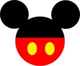 Disney Mickey and Minnie Head Decorations