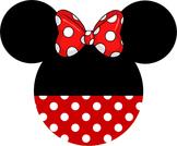 Disney Minnie Head Name Decorations