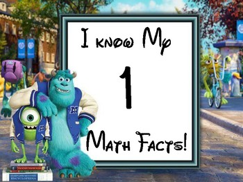 Goal Tracker Disney Monster Fact