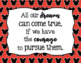 Disney Themed Motivational Quotes Poster Set Bulletin Board Classroom Decor