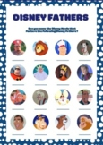 Disney Movie Fathers Image Quiz. Fathers Day Game. Fun Activity