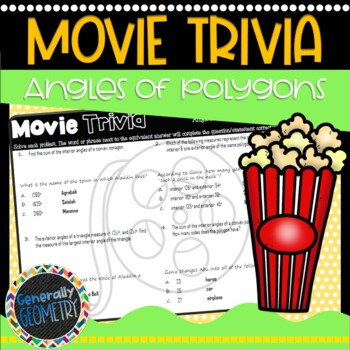 Disney Movie Fun, Aladdin: Angles of Polygons