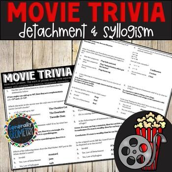 Disney Movie Fun, Alice in Wonderland: Law of Detachment & Syllogism, Logic