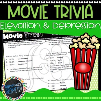 Disney Movie Fun, Beauty and the Beast: Angles of Elevation & Depression