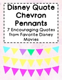 Disney Movie Quote Pennants!