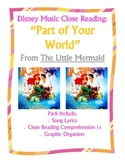 Disney Music Close Reading:  Part of Your World from Littl