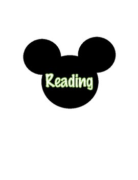 Disney Notebook Labels
