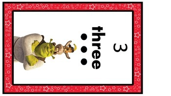 Disney Numbers Posters Regular Font