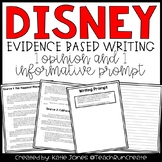 Disney Opinion and Informative Writing Prompts