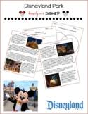 Disney Parks   Disneyland Park Reading Pack