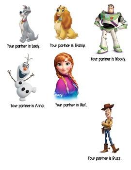 Disney Partner Cards