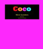 Disney/Pixar COCO -  Movie Questions