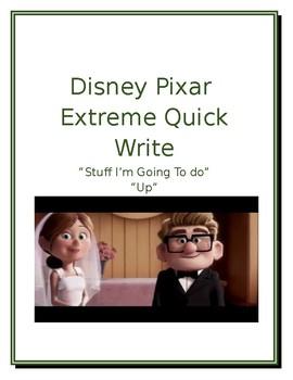"Disney/Pixar Extreme/Quick Write ""Stuff I'm Going to Do"" ""Up"" Prompt #6"