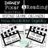 Disney Pixar Short Films Response Graphic Organizers