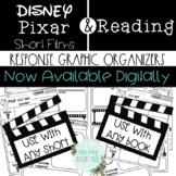 Disney Pixar Short Films Response Graphic Organizers