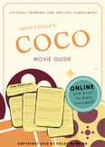 Disney Pixar's Coco Movie Guide Packet + Activities + Sub Plan + Best Value