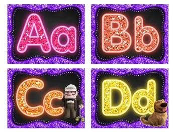 Disney Pixar's UP Word Wall Letters