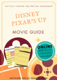 Disney Pixar's Up Movie Guide Packet + Activities + Sub Plan + Best Value