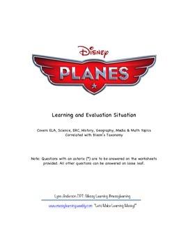 Disney Planes Lesson Plan