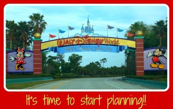 Disney Planning Vacation