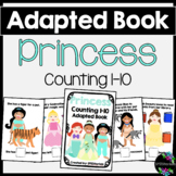 Princess Adapted Book (Counting 1-10)