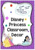 Disney Princess Classroom Decor