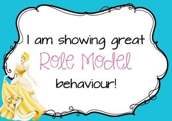 Disney Princess Positive Behaviour Chart