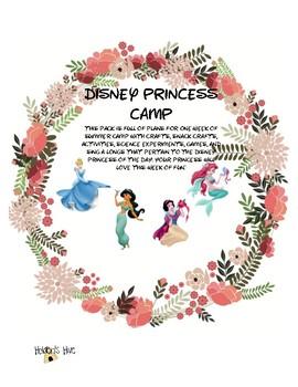 Disney Princess Summer Camp-Week 2