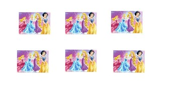 Disney Princess Token Board