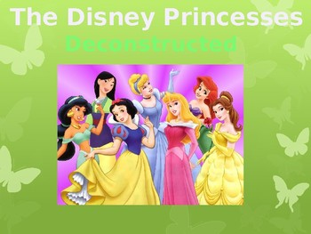 Disney Princesses Deconstructed