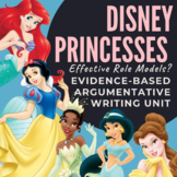 Disney Princesses as Role Models: An Argumentative Writing Unit