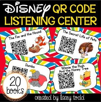 Disney QR Listening Center Bundle (NO PREP!)