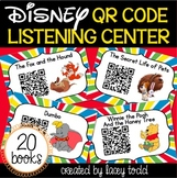 Disney QR Listening Center Bundle (NO PREP!)