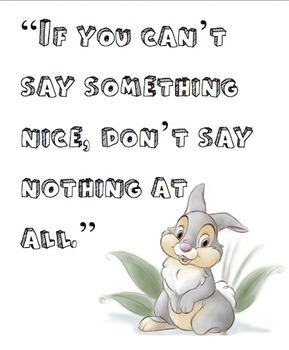 Disney Quote Posters