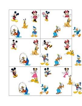 Disney Random Partner Cards