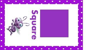 Disney Shape Posters Polka Dot Border