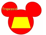 Disney Shapes- No Vertices and Edges