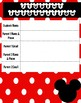 Disney Student Information Sheet