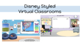Disney Styled Virtual Classrooms: Editable