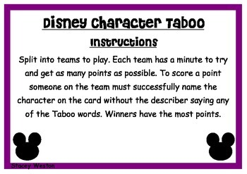 Disney Taboo