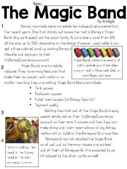 Disney Technology Articles Text & Question Set - FSA/PARCC