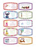 Disney Test Encouragement Candy Notes