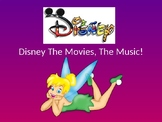 Disney The Music! Musical Lyric powerpoint