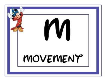 Disney Theme CHAMPS Classroom Management