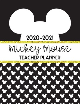 Disney Inspired Teacher Planner