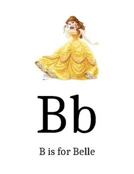 Disney Themed Alphabet