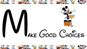 Disney Themed Classroom Management for Elementary Music