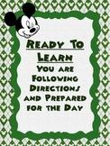 Disney Themed Clip Chart