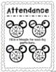 Disney Themed Data Notebook
