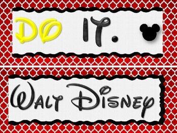 Disney Themed Good Grades Bulletin Board